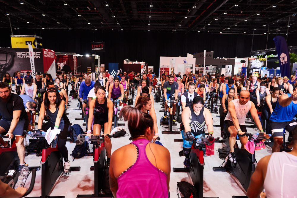 Image of Les Mills class at Dubai Active