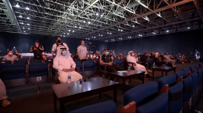 Socially Distanced Audience at an event, Dubai Muscle Classic